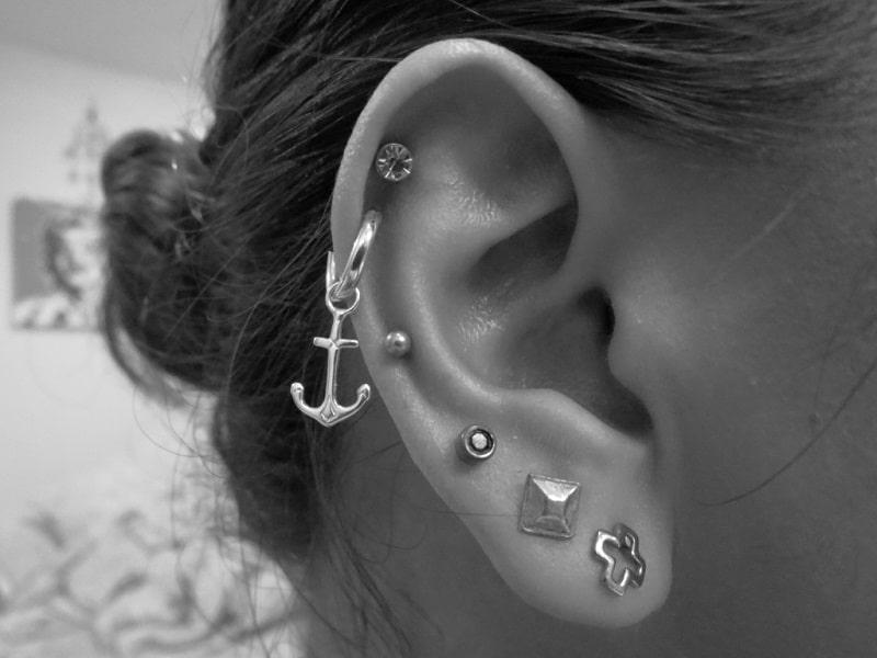 Comment percer oreille Helix