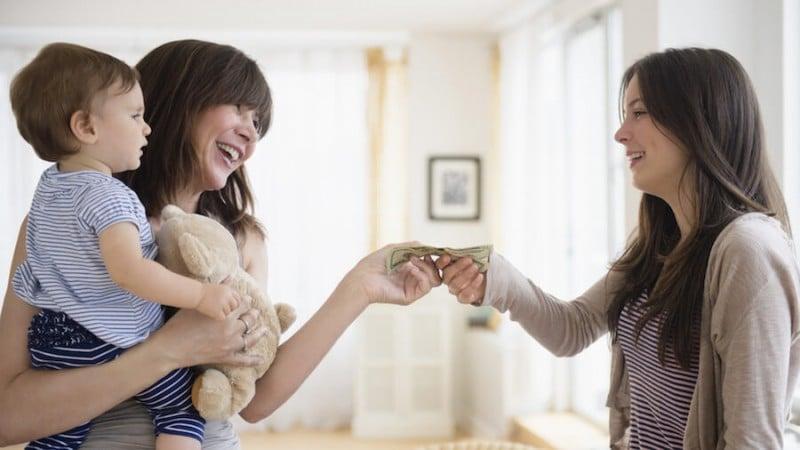 Combien coûte une baby sitter ?